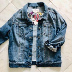 "pilcro by anthropologie | ""amore"" denim jacket"